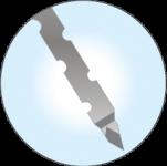 Italian imported five-hole Jamshidi needle